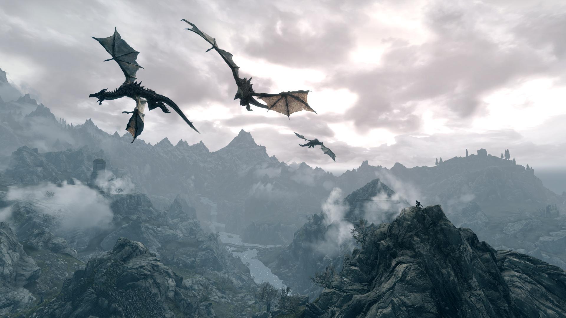 dragon image high quality skyrim dragon xcitefun skyrim dragon pc 1920x1080