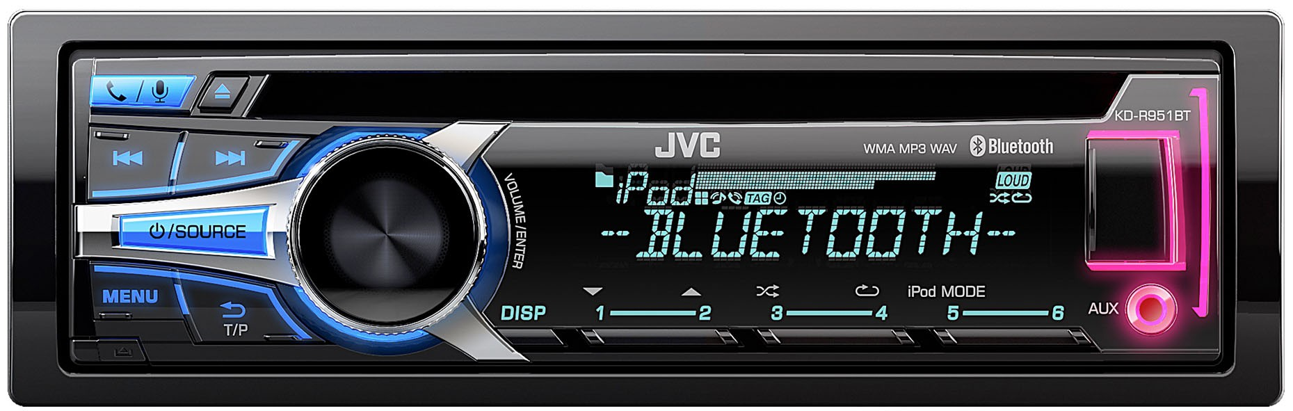 Download Details about JVC KD R951BT Vehicle Radio CD MP3 Player Audio 1859x591