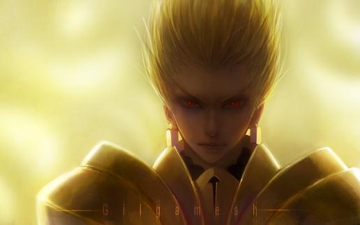 Fate Zero Gilgamesh Wallpaper Fatezero   gilgamesh 516x323