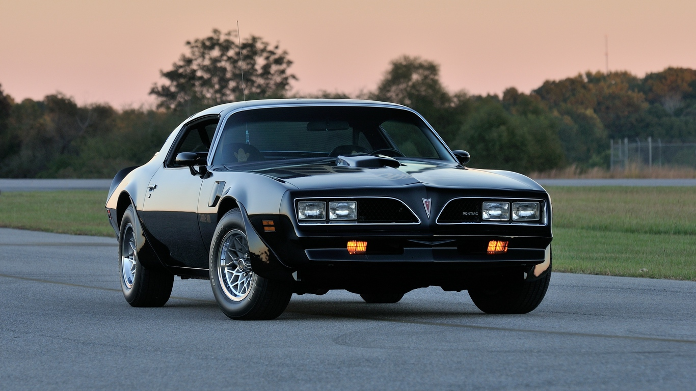 Download wallpaper 1366x768 pontiac firebird trans am ws6 1366x768