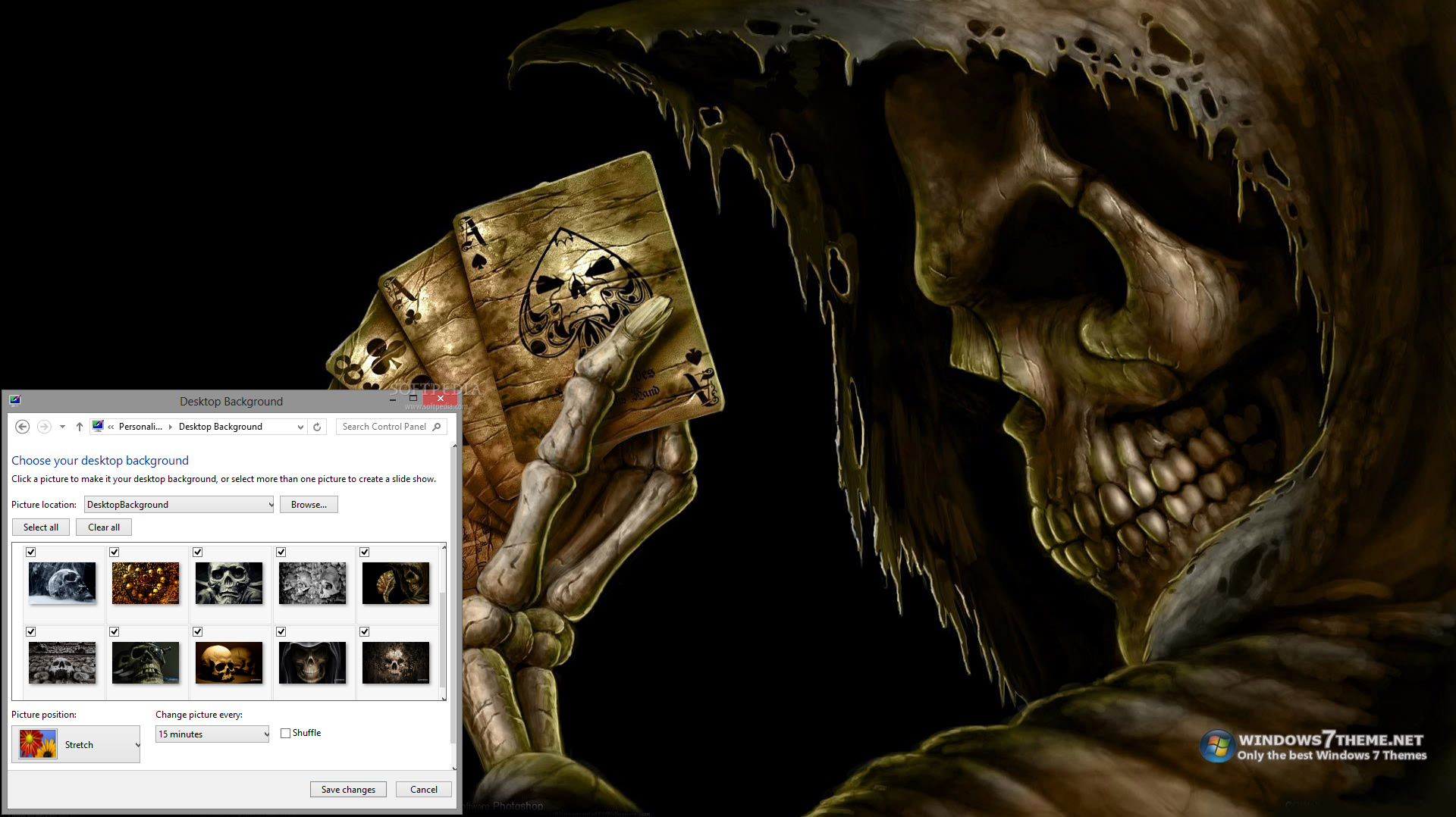 skull wallpaper for windows 7 - photo #23
