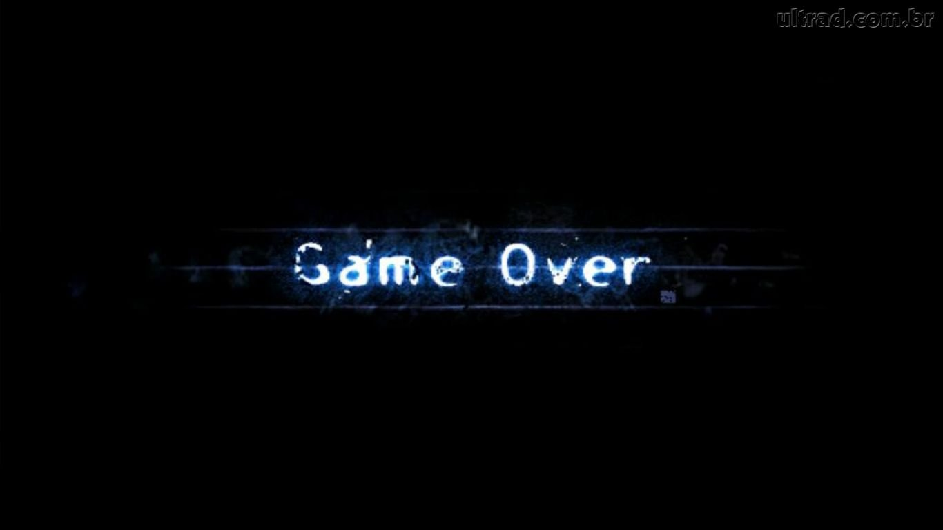 Papel de Parede Game Over 1366x768