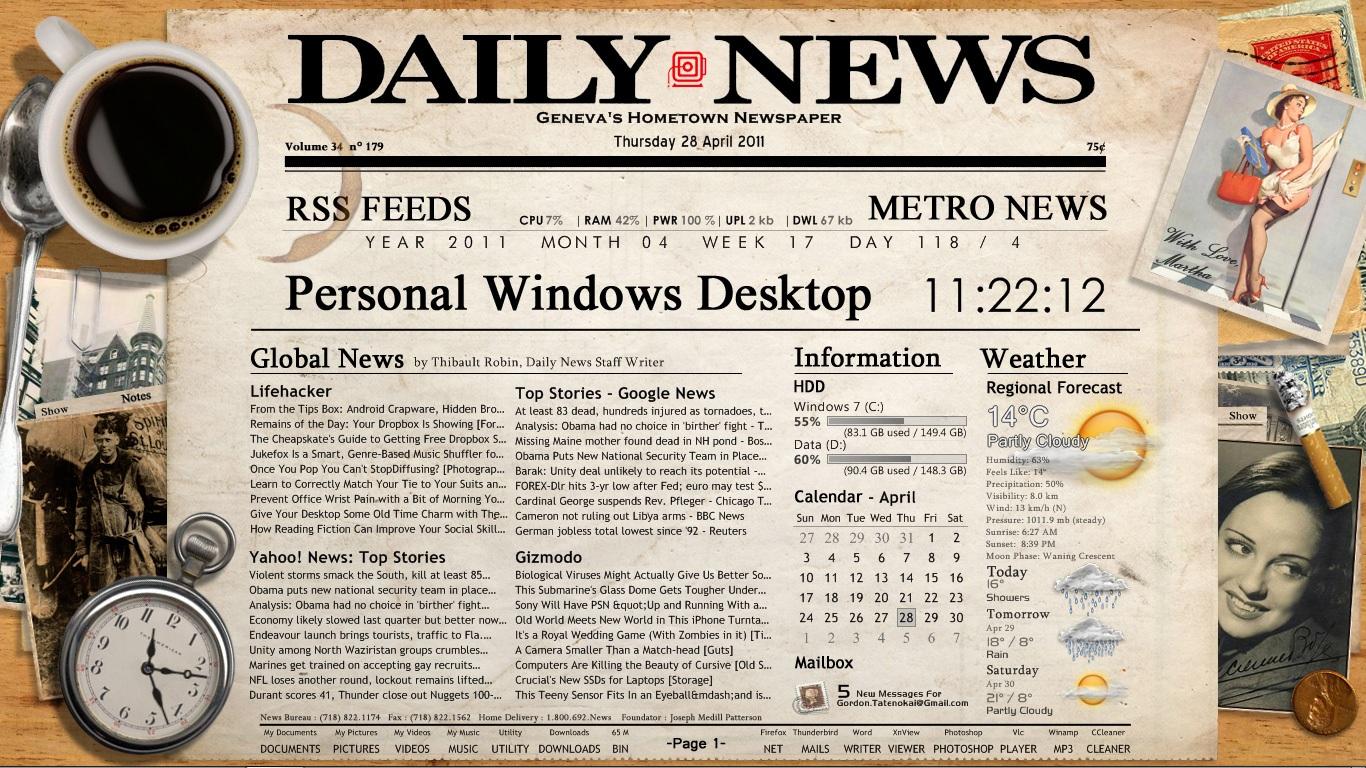 News News: Old Newspaper Wallpaper