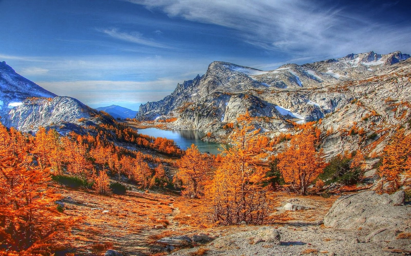 Mountain fall backgrounds