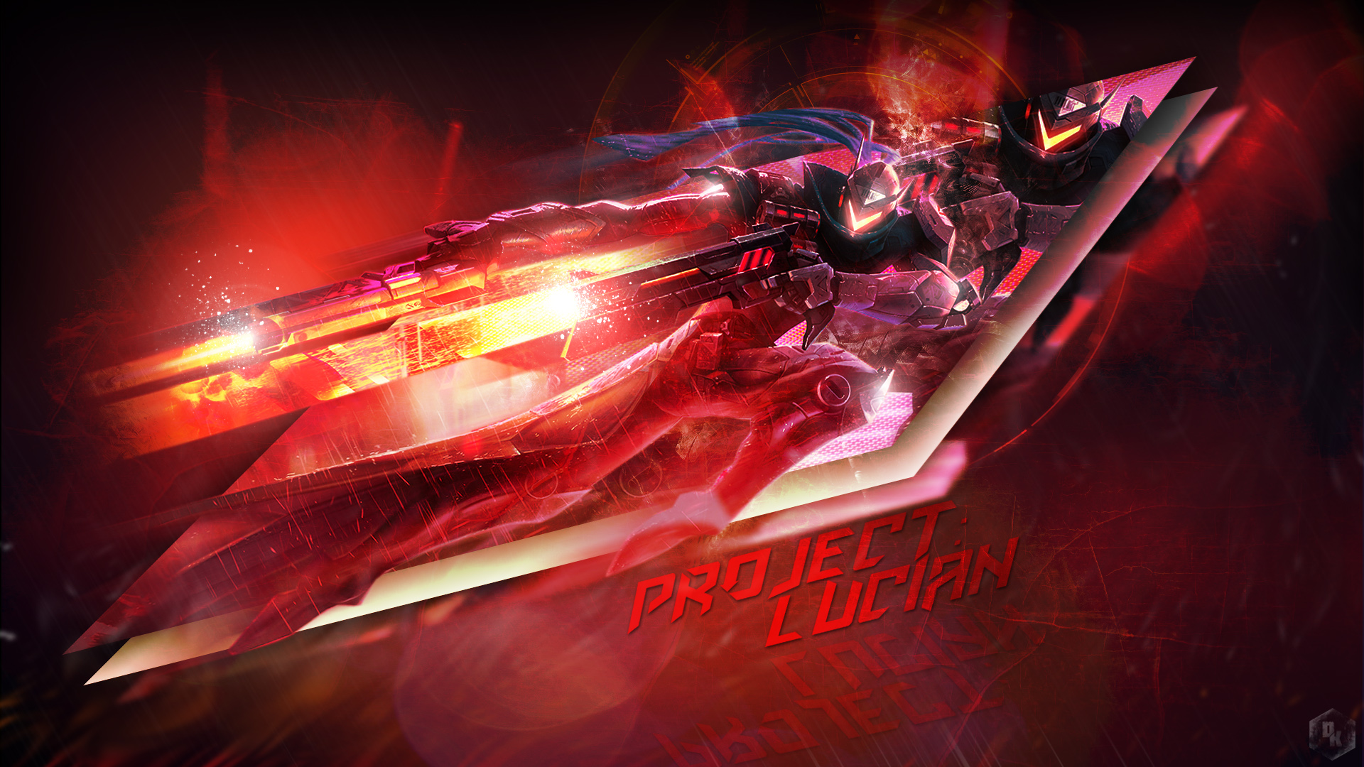 PROJECT Lucian LoL Wallpapers 1920x1080