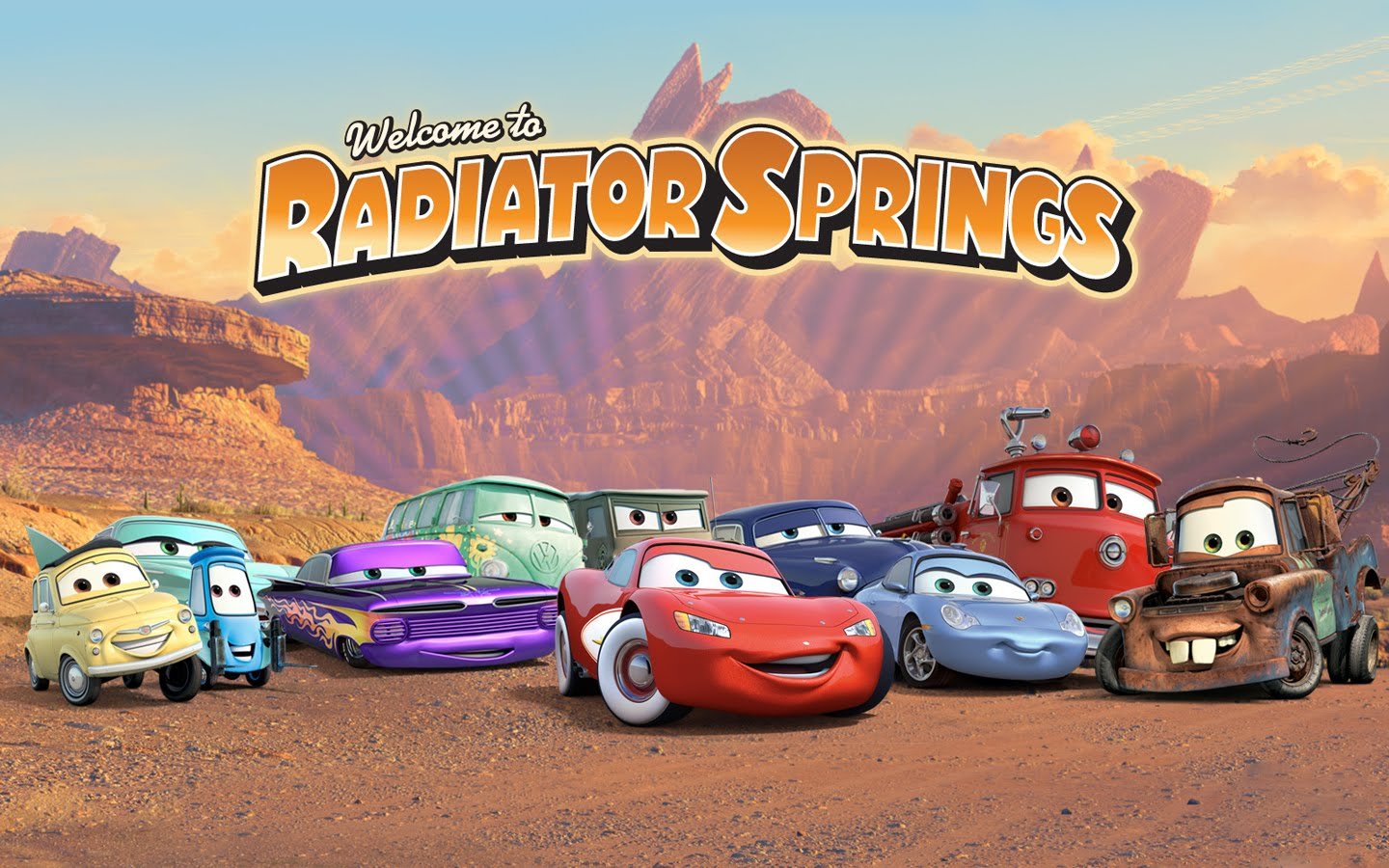 Welcome to Radiator Springs 1440x900