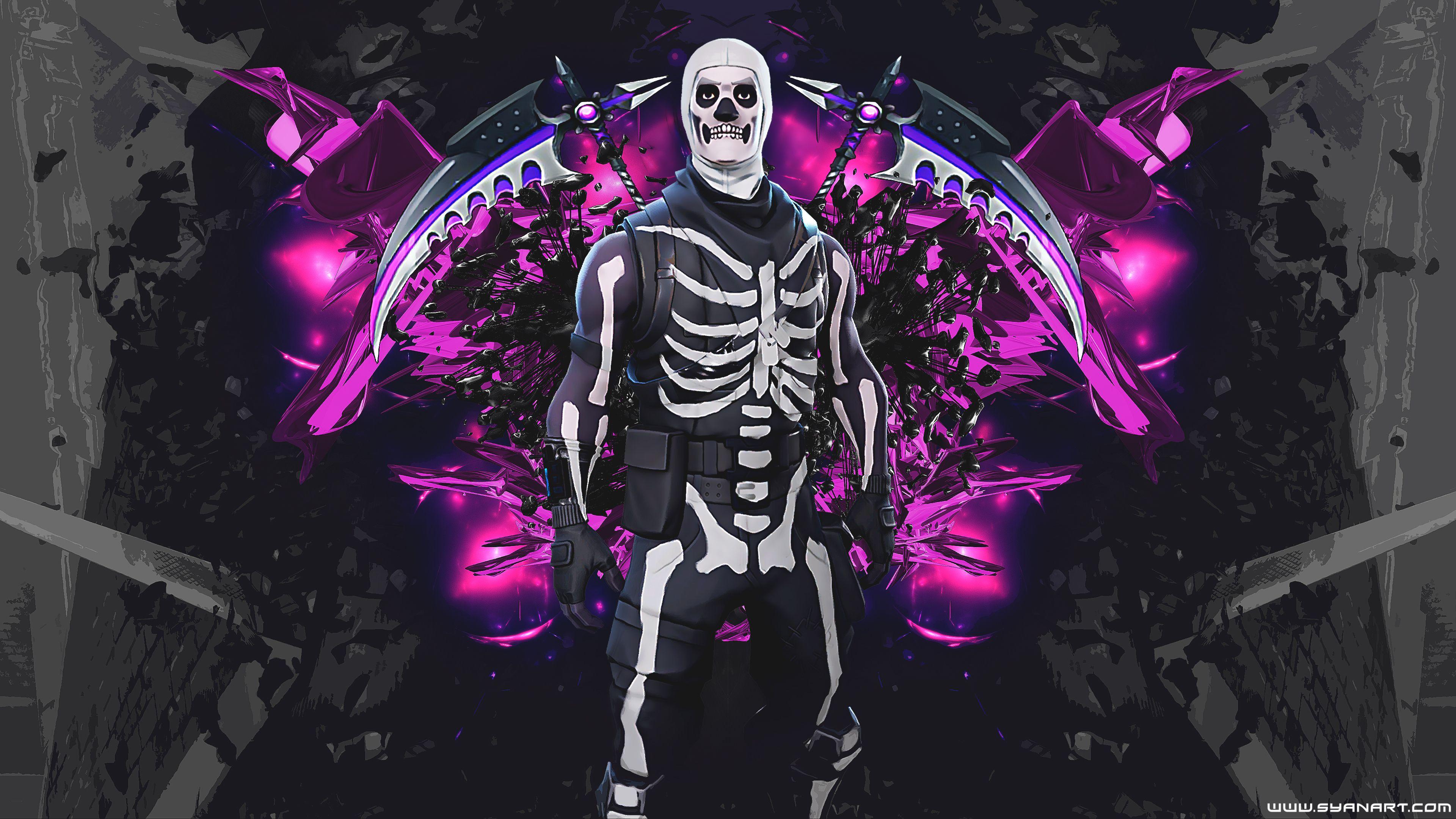 Skull Trooper Fortnite Cool Wallpapers   Top Skull Trooper 3840x2160