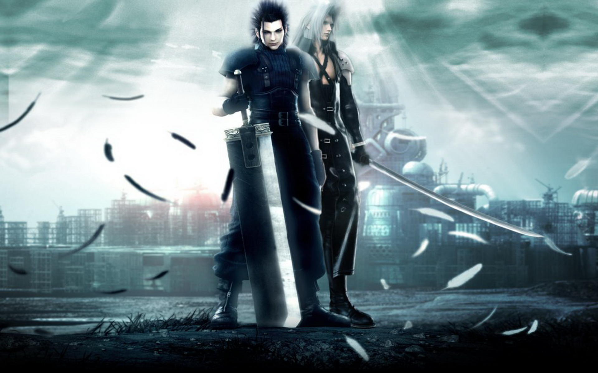 Free Download Crisis Core Final Fantasy Vii Wallpapers 4 Hd