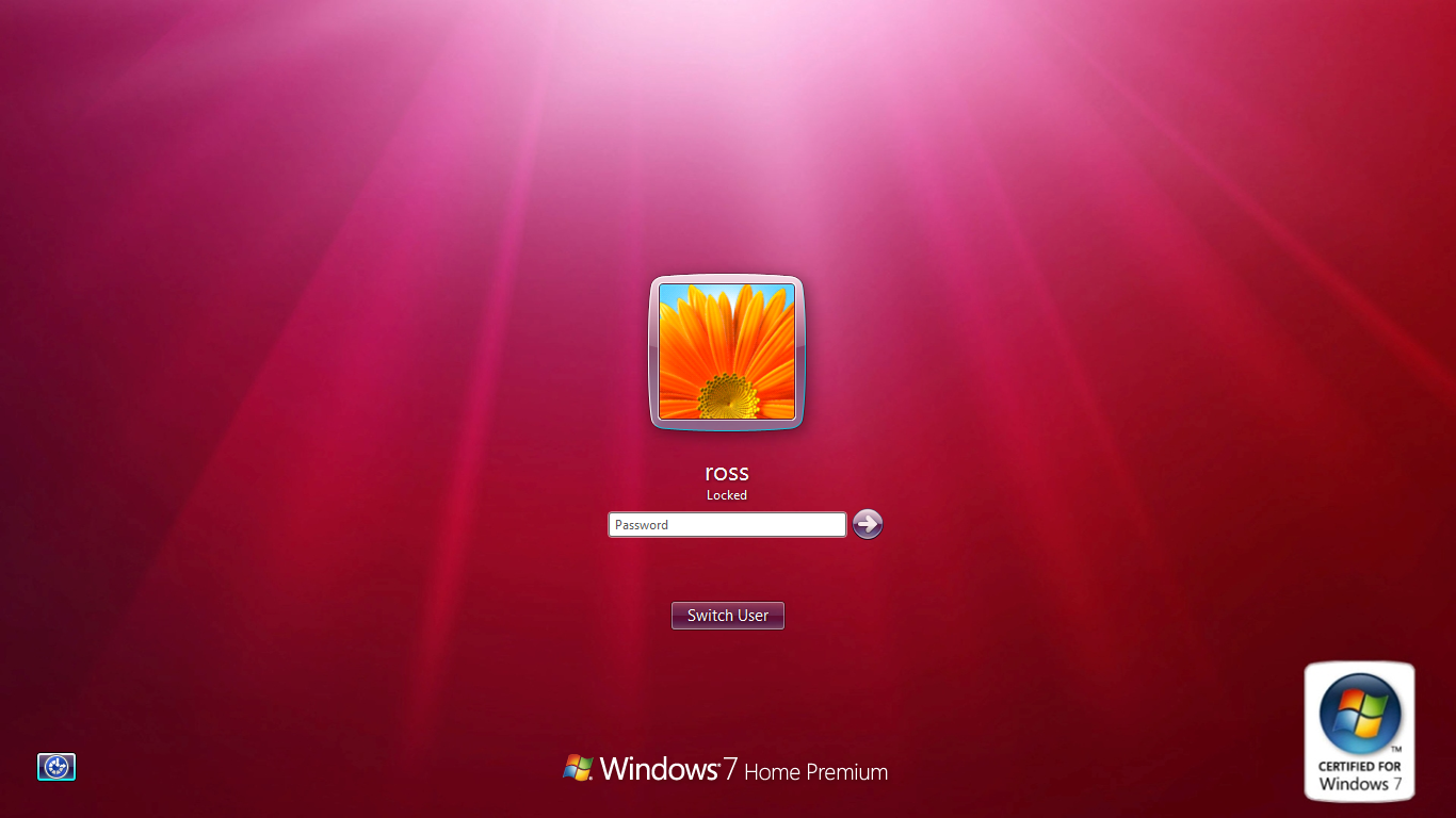 How to Easily Change the Windows 7 Login Screen Background 1366x768