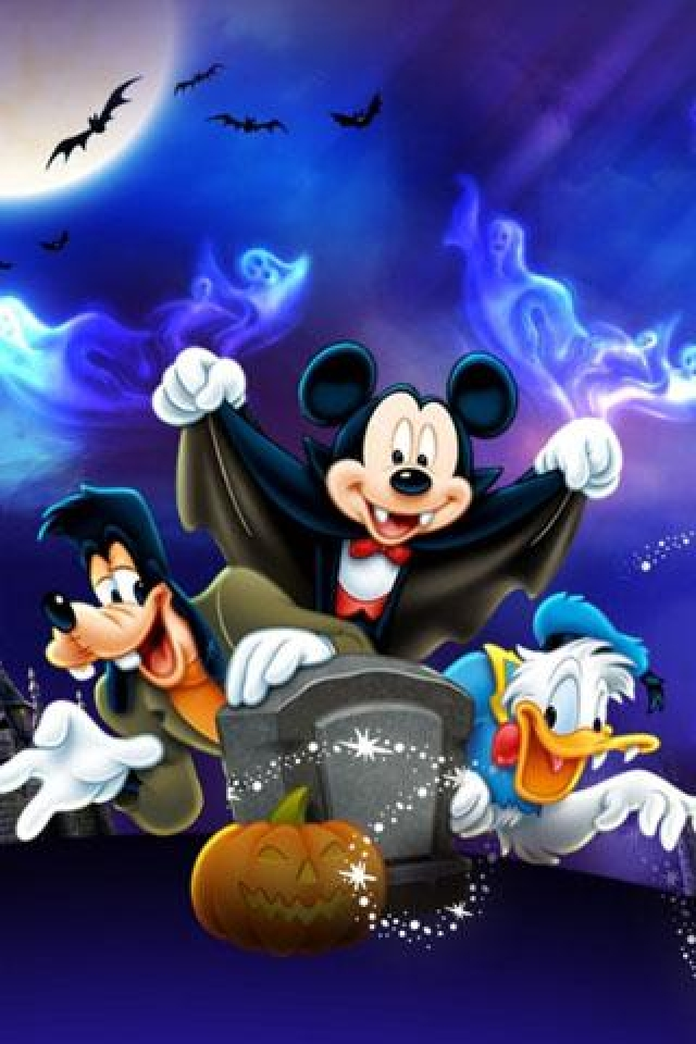Disney Helloween iPhone Wallpaper HD iPhone 640x960