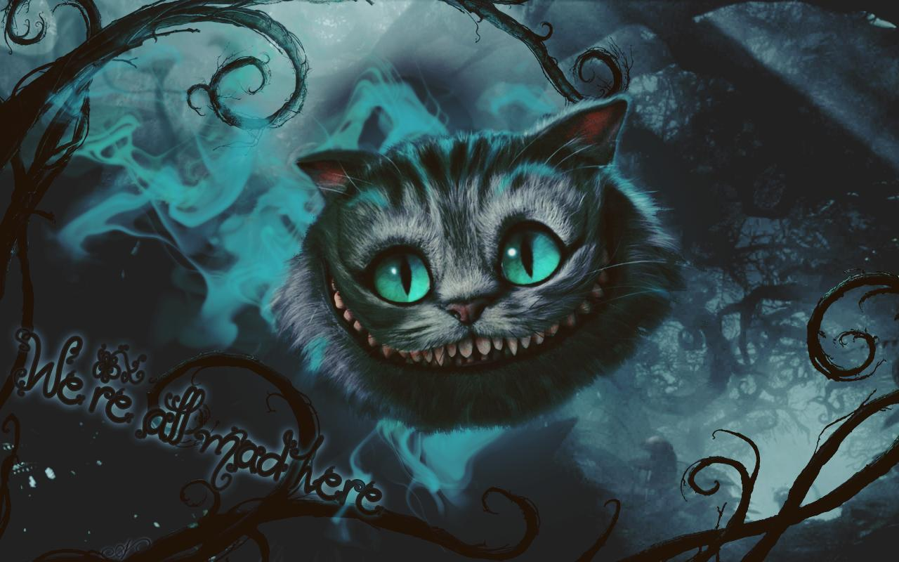 Free Download Cheshire Cat Backgrounds 1280x800 For Your Desktop