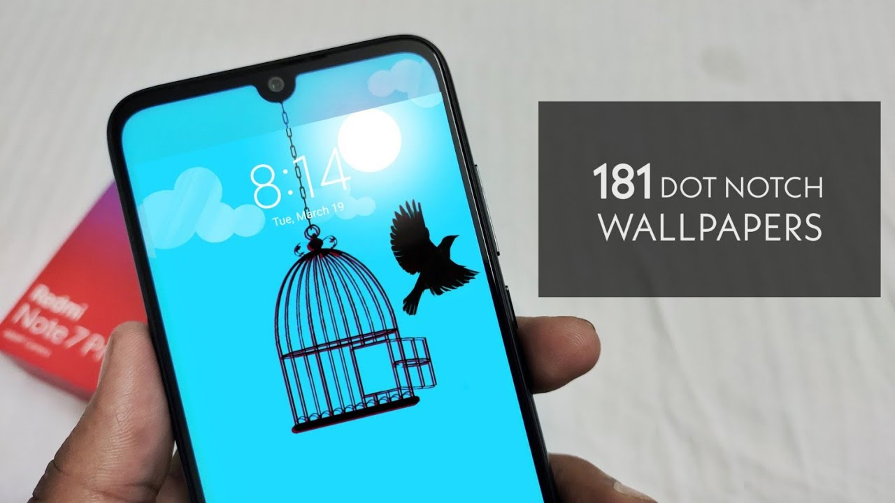 Best 181 Dot Notch wallpapers for Redmi Note 7 Pro Hide your 1280x720