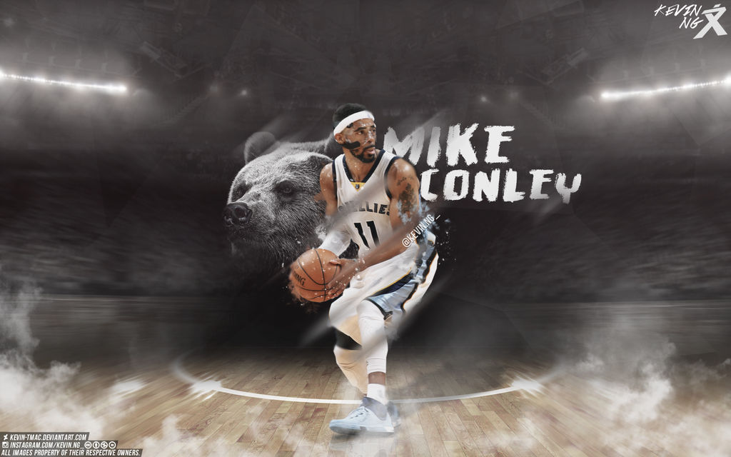 Mike Conley Wallpaper by Kevin tmac 1024x640