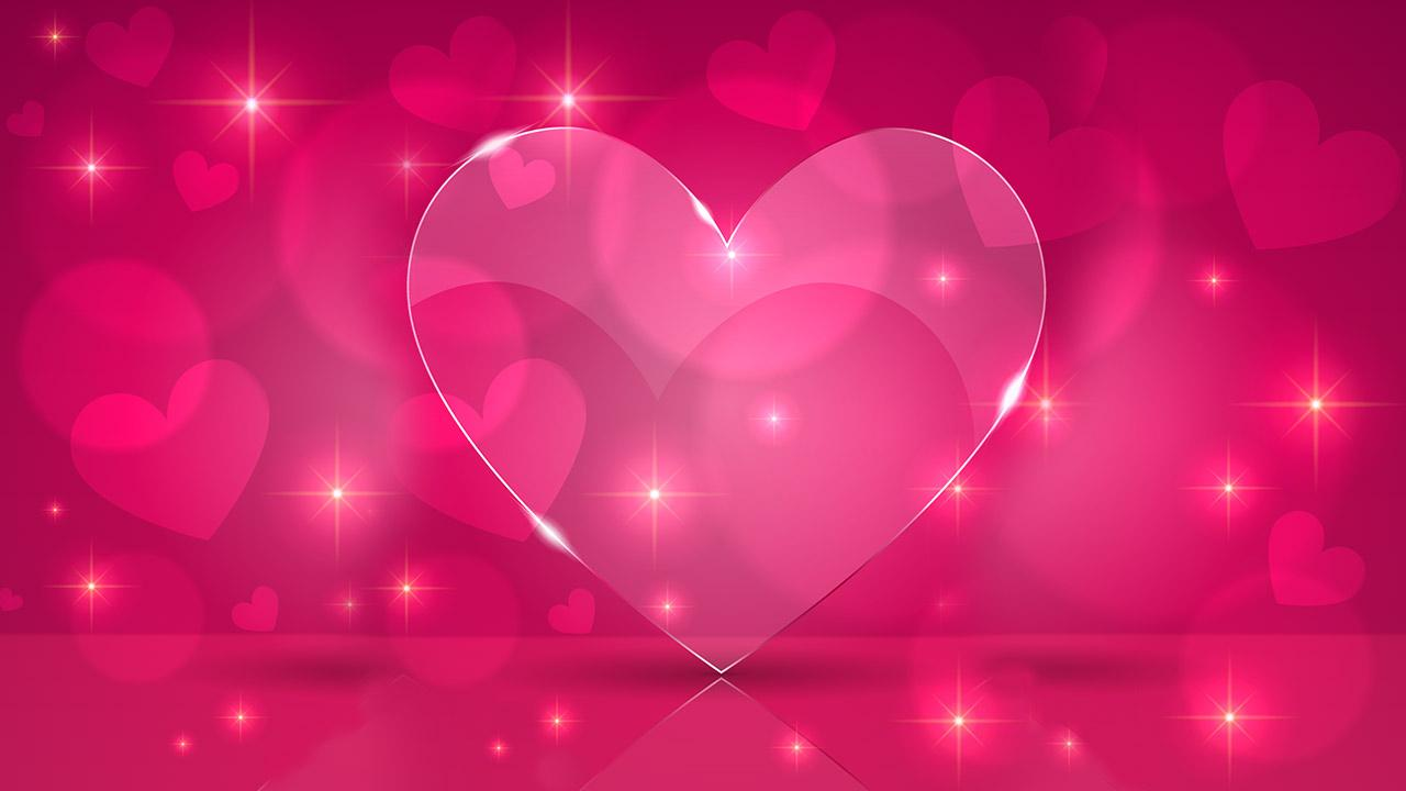 Cute Hearts Wallpaper Wallpapersafari