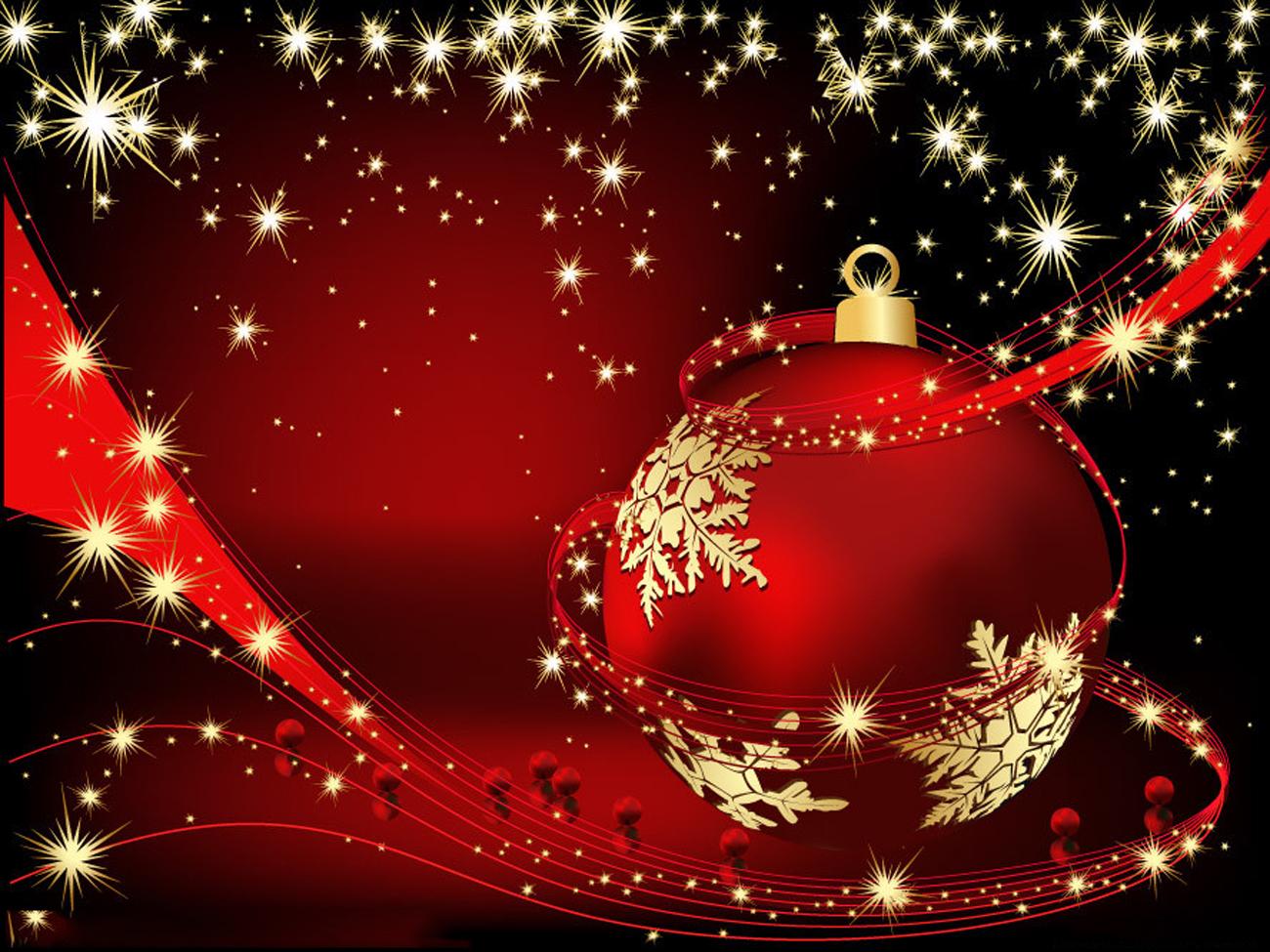 Christmas Holiday Wallpaper   Clip Art Library 1300x975