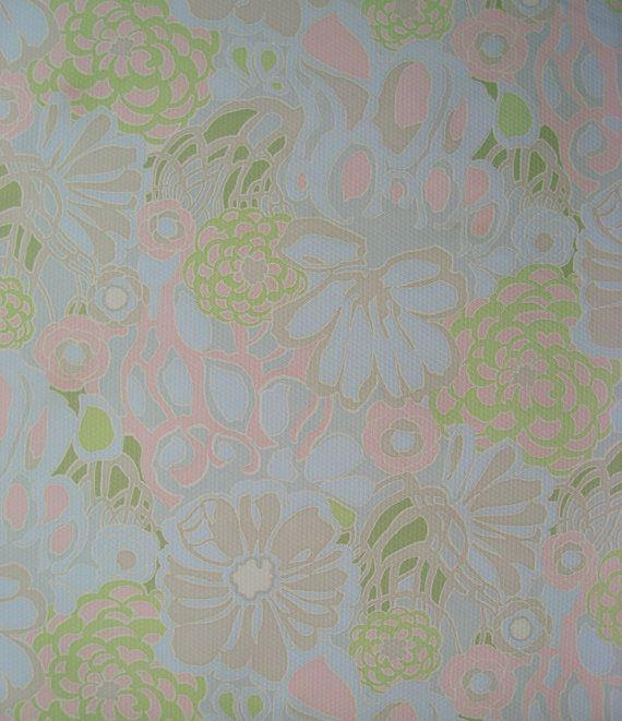 Vintage wallpaper by Patternlike on Etsy kr5000 570x661