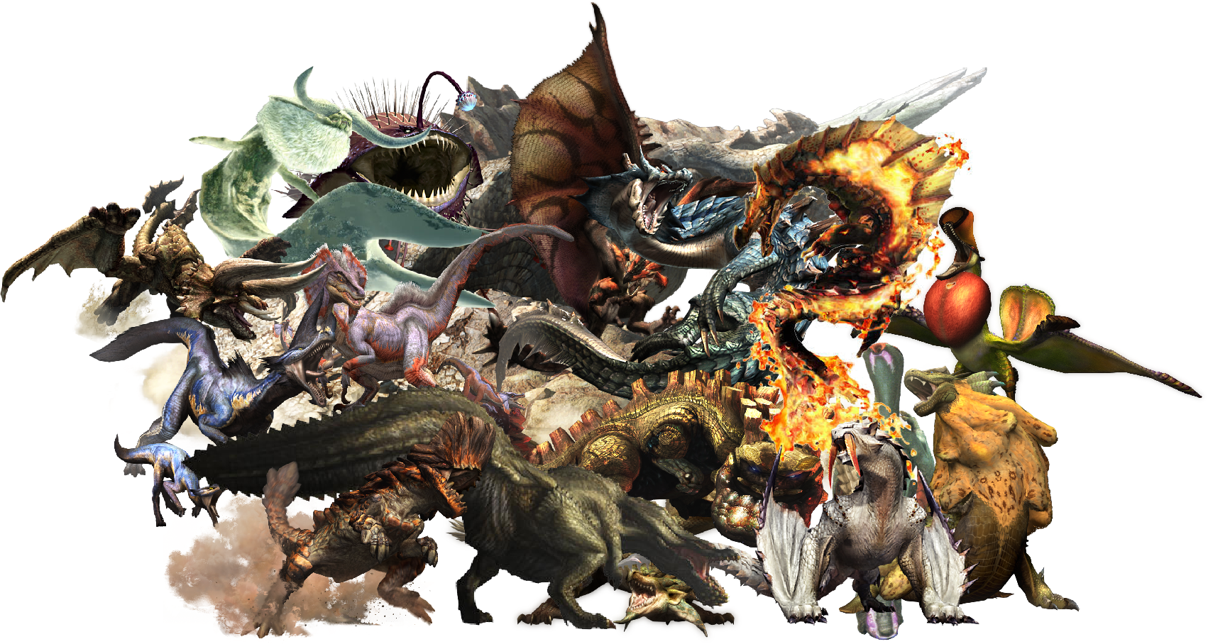 Download Monster Hunter By Korakta 1702x908 50 Monster Hunter 4