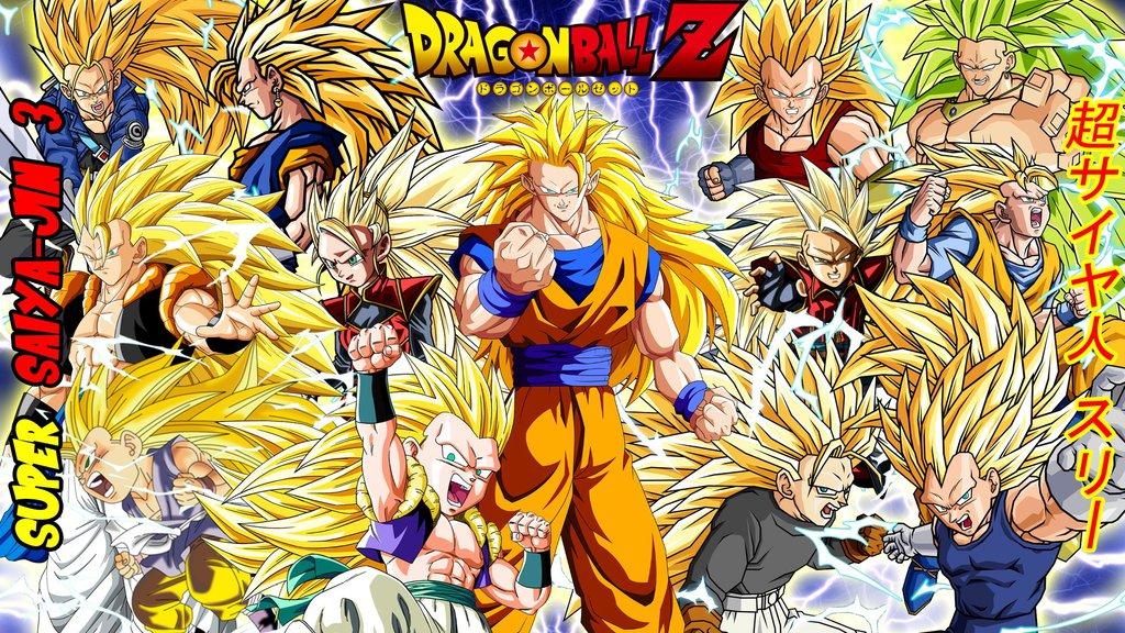 Dragon Ball Z Super Saiyajin 3 Wallpaper by gonzalossj3 1024x576