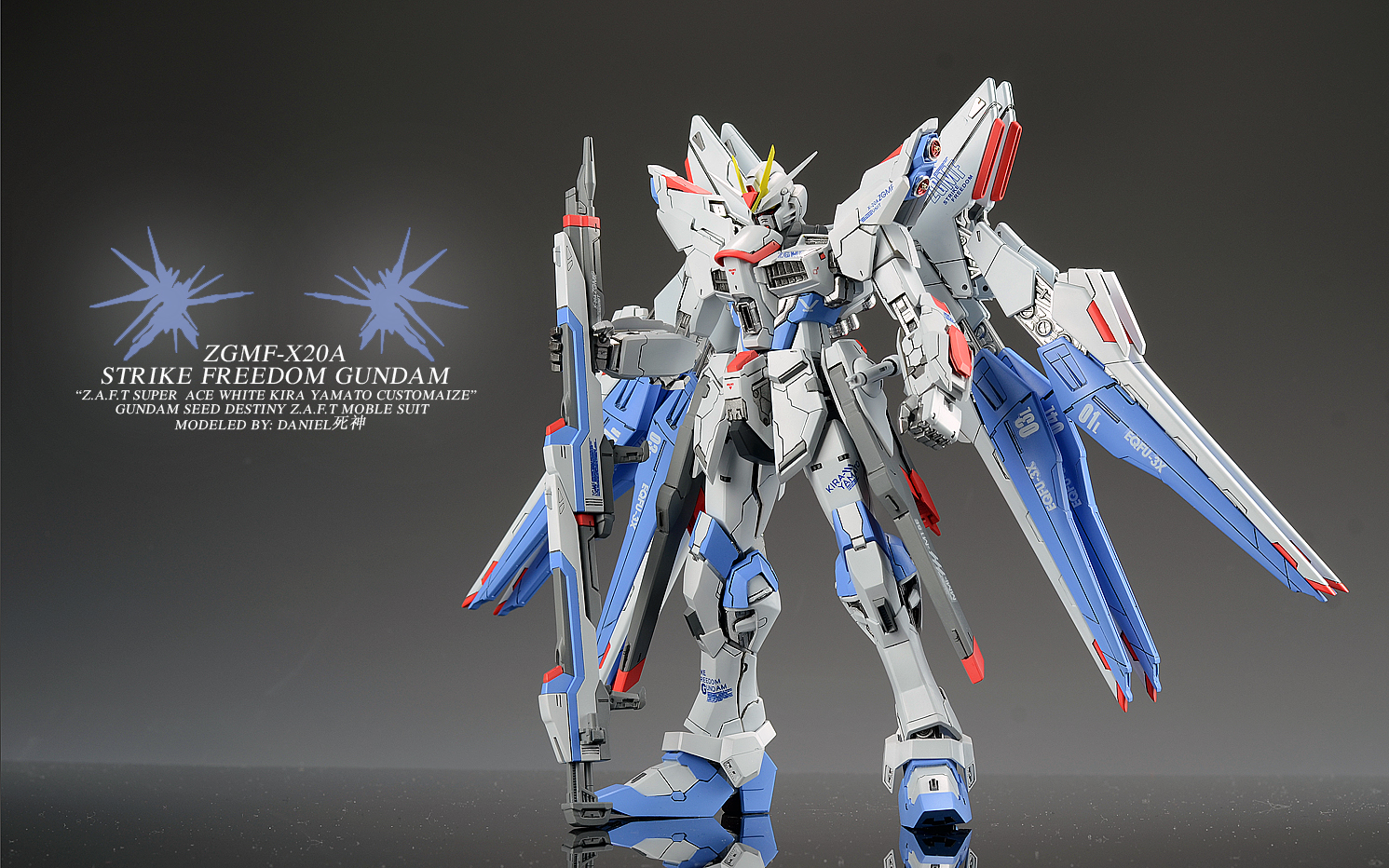 VP Strike Freedom Gundam Verdaniel Photoreview No17 Wallpaper 1491x932