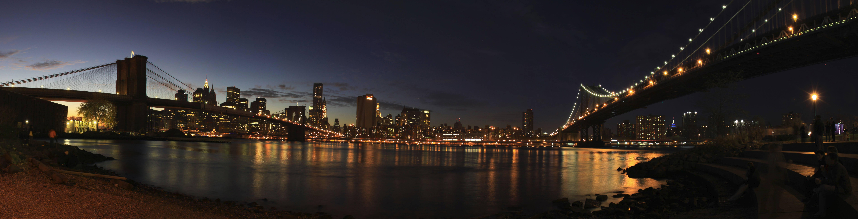 New York City Skyline 10656x2720