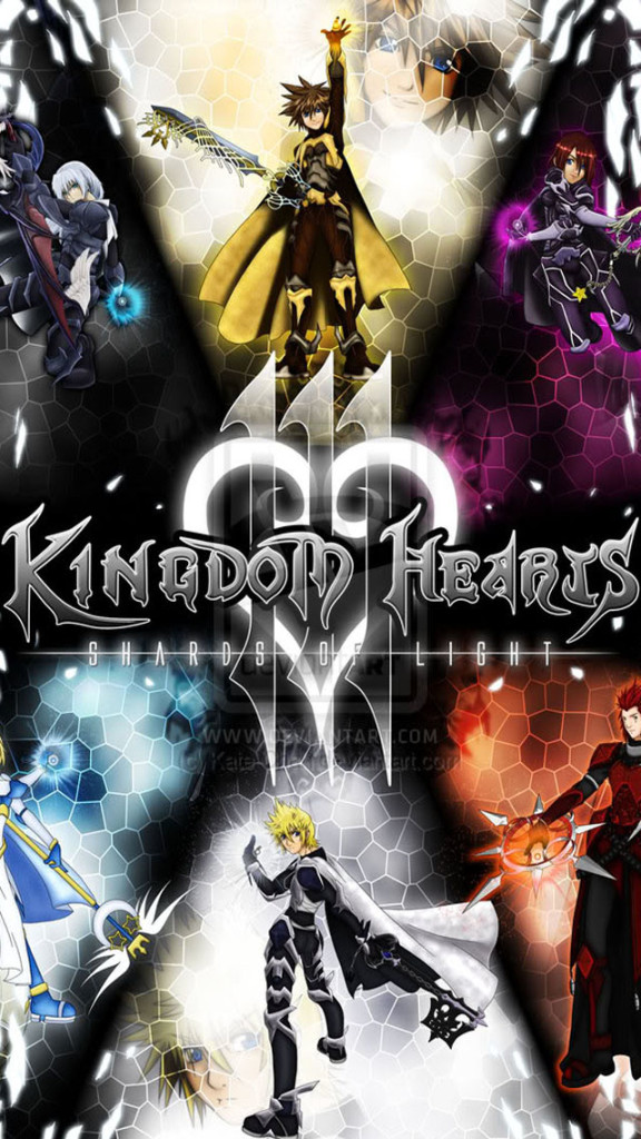 Kingdom Hearts 3 iPhone 6 6 Plus and iPhone 54 Wallpapers 576x1024