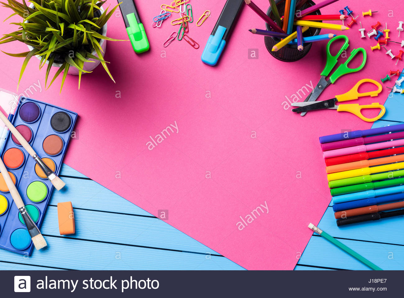 Free Download School Or Art Background Stock Photo 138490863 Alamy  [1300x957] For Your Desktop, Mobile & Tablet   Explore 44+ Art Backgrounds    Wallpaper Art, Art Wallpaper, Art Wallpapers