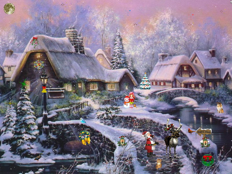 Christmas Screensaver   Christmas Adventure 2   FullScreensaverscom 800x600