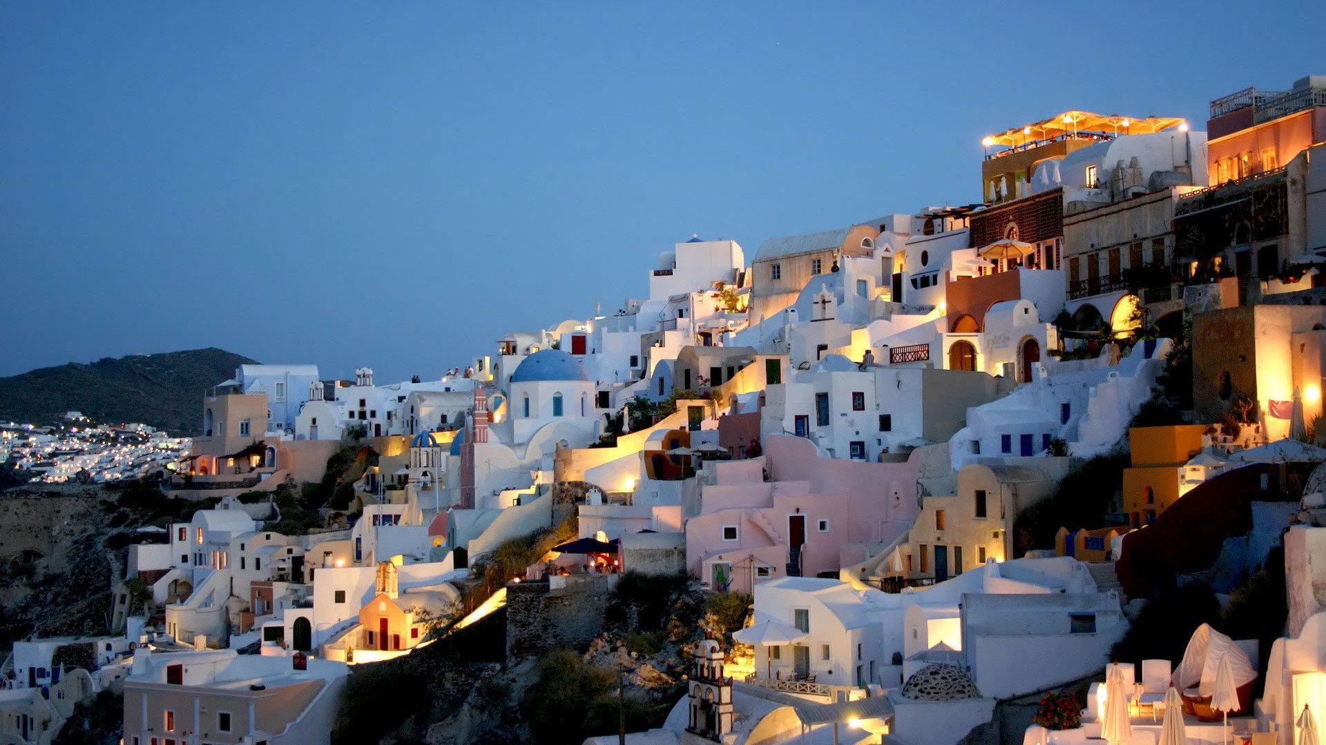 35] Santorini Greece Wallpapers on WallpaperSafari 1920x1080