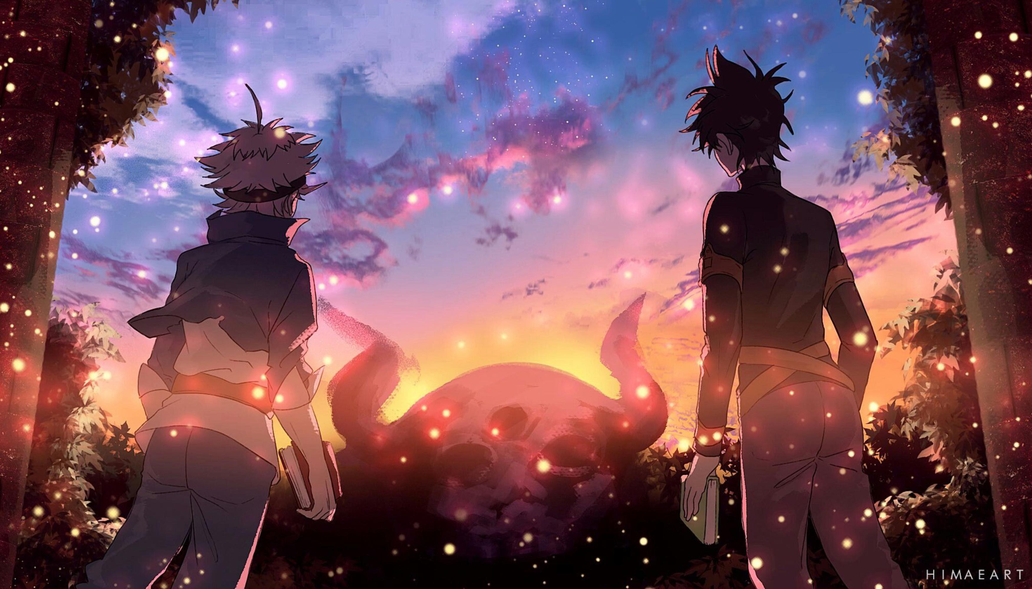 Wallpaper anime boys asta yuno Black Clover 3500x2000 3500x2000