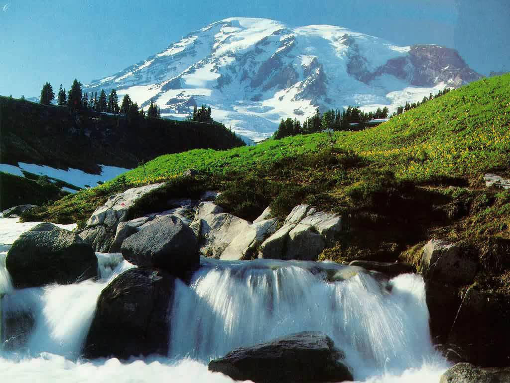 Download Waterfalls Wallpaper 1024x768