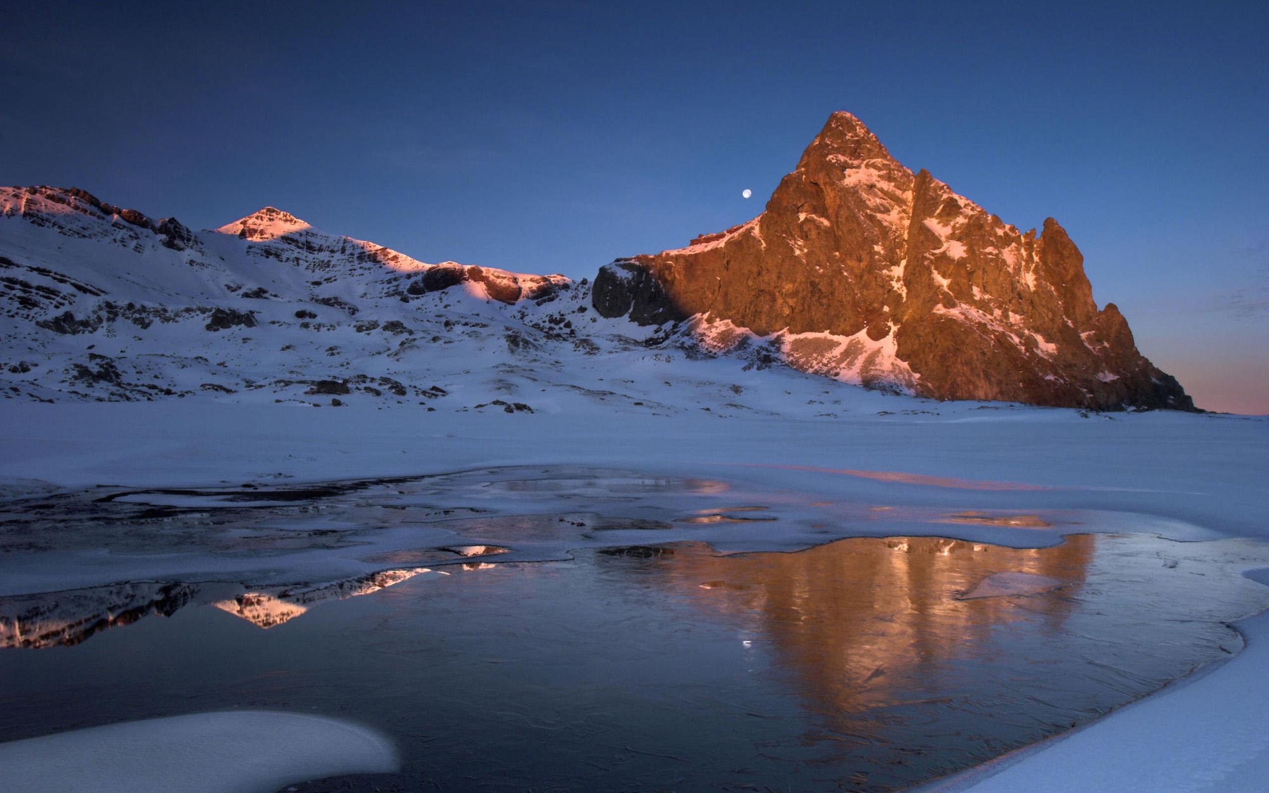 HD Wallpaper Winter Landscape - WallpaperSafari