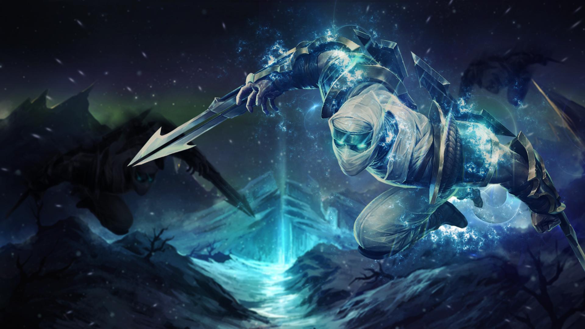 League of Legends Zed - Desktop Wallpaper by Trinexz on DeviantArt
