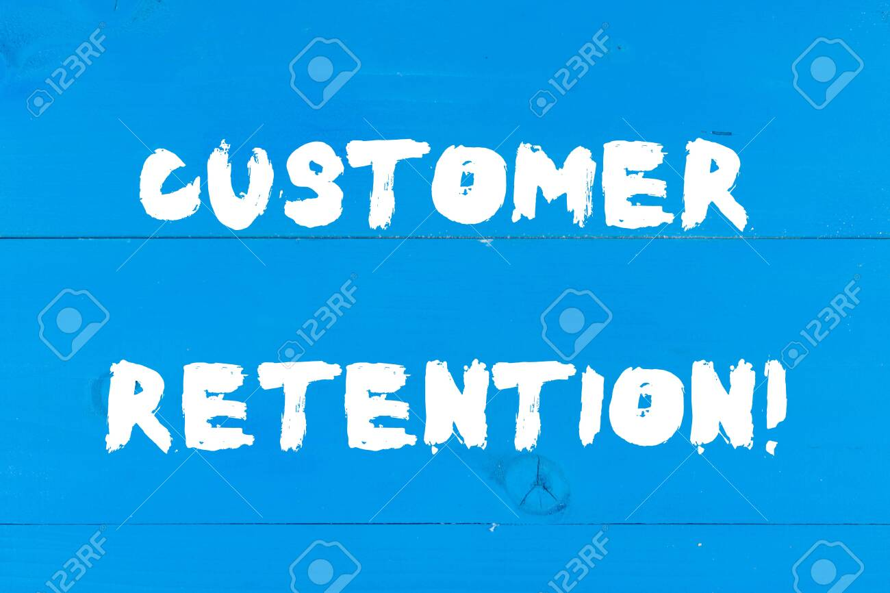 Writing Note Showing Customer Retention Business Concept For 1300x866
