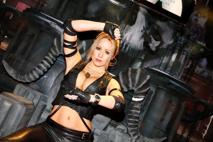 Cosplay HQ MORTAL KOMBAT   SONYA BLADE COSPLAY   PART I   CARLY BAKER 720x480