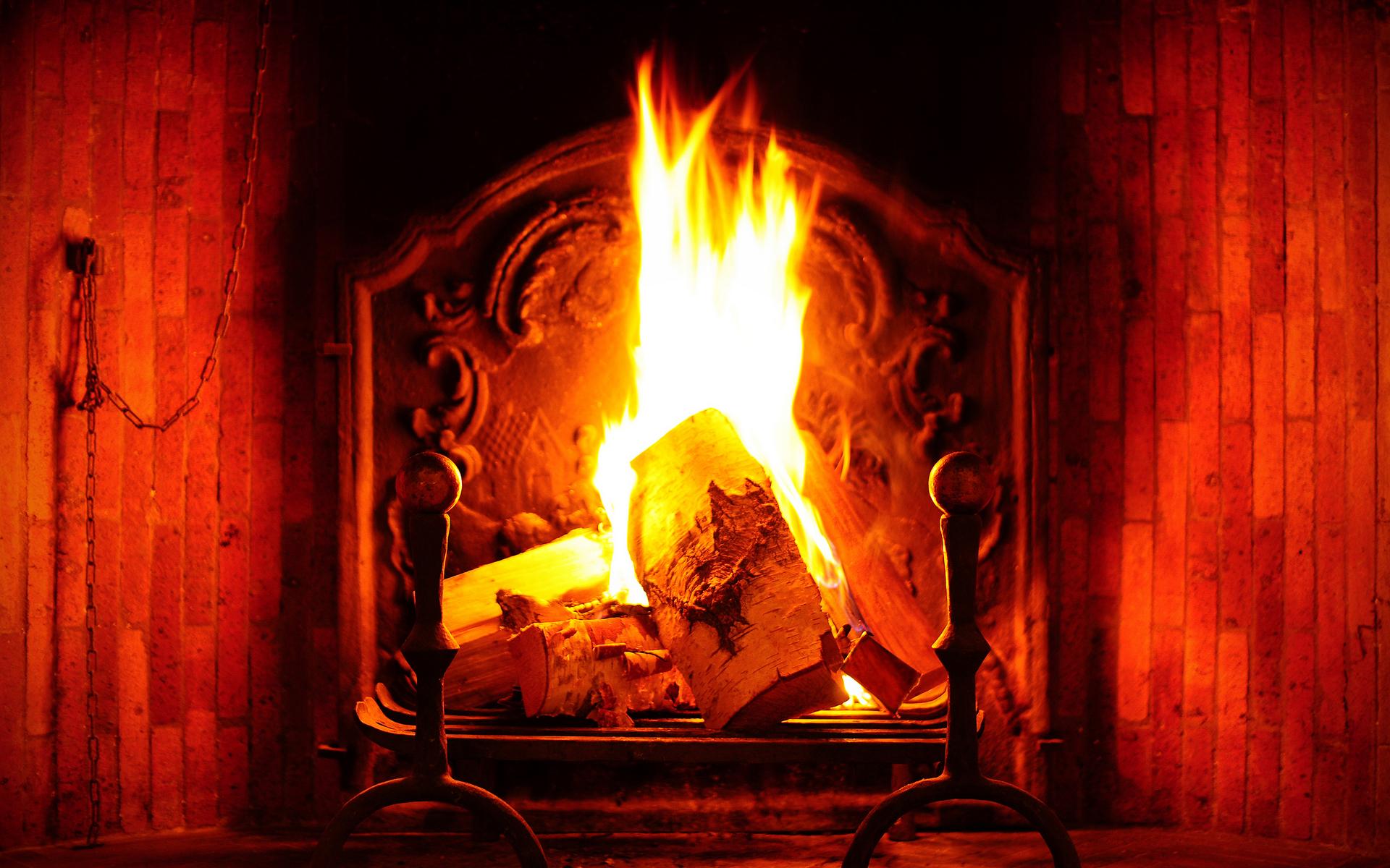 45 Christmas Fireplace Wallpaper Animated On Wallpapersafari