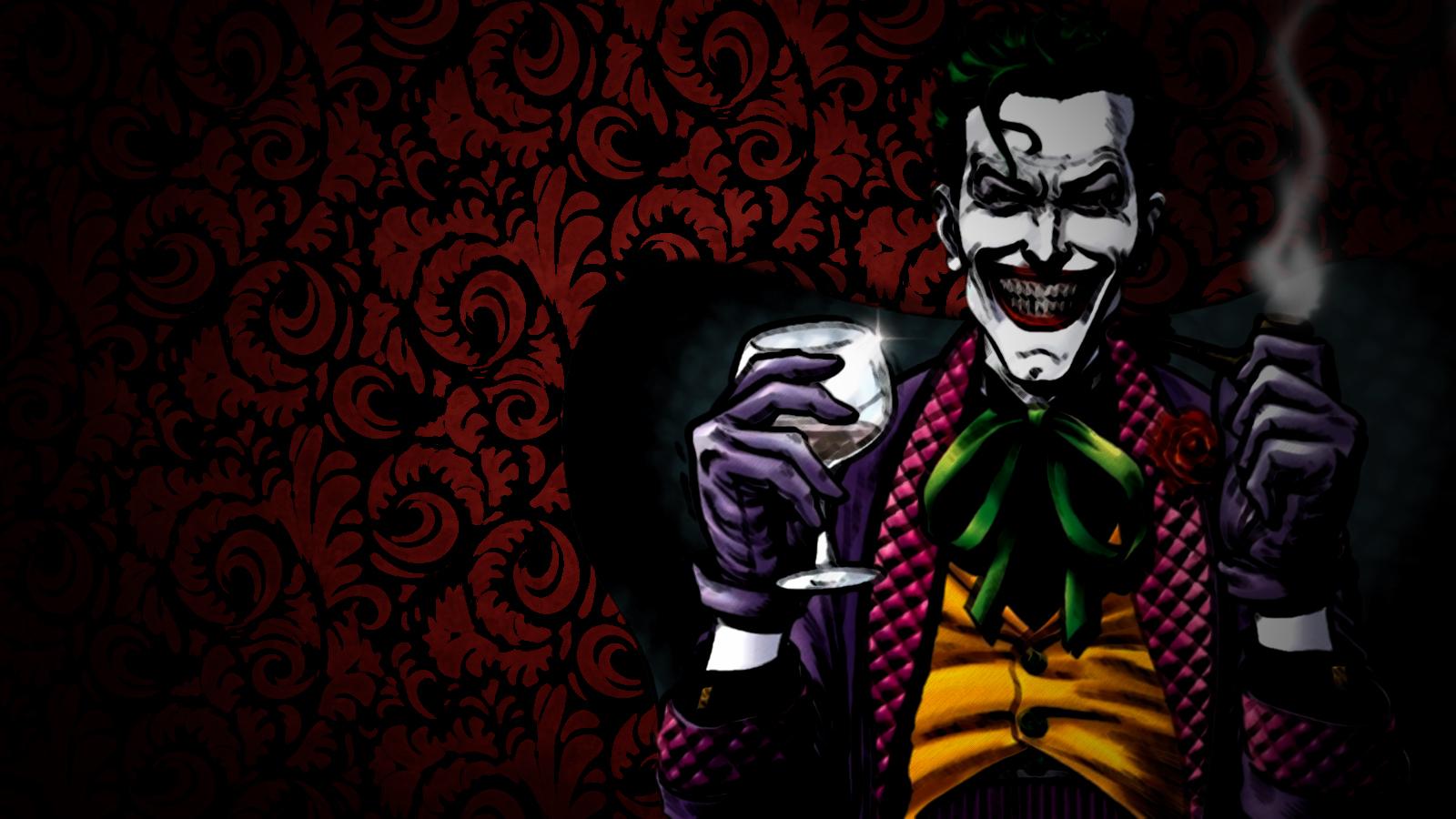 The Joker Wallpaper 1600x900 The Joker Wine 1600x900