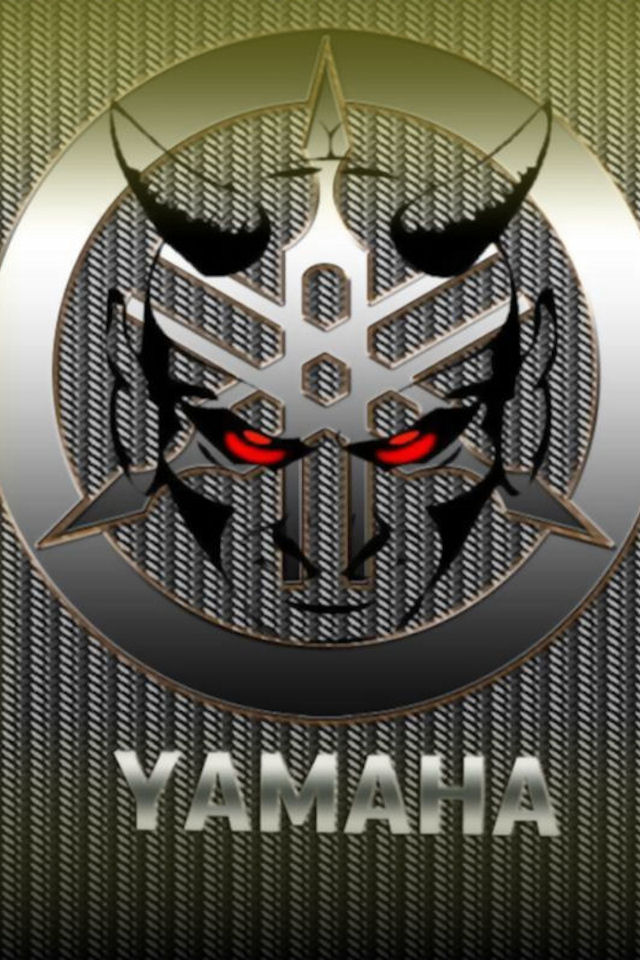 Download logos wallpaper Yamaha with size 640x960 pixels for 640x960