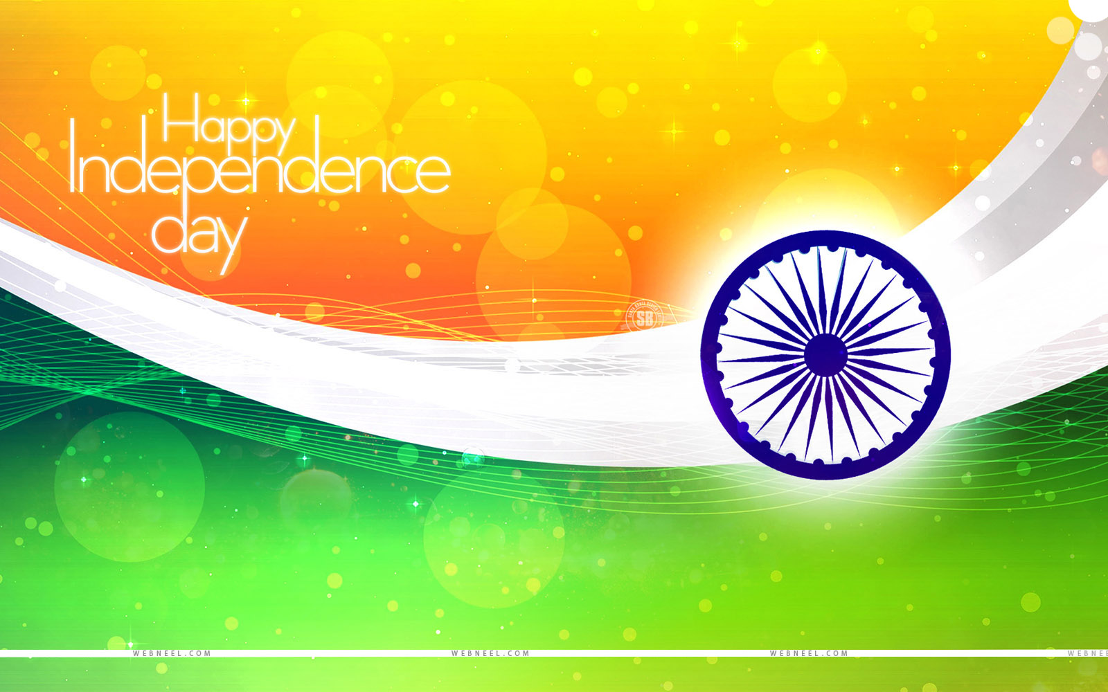 40 Beautiful Indian Independence Day Wallpapers and Greeting cards 1600x1000