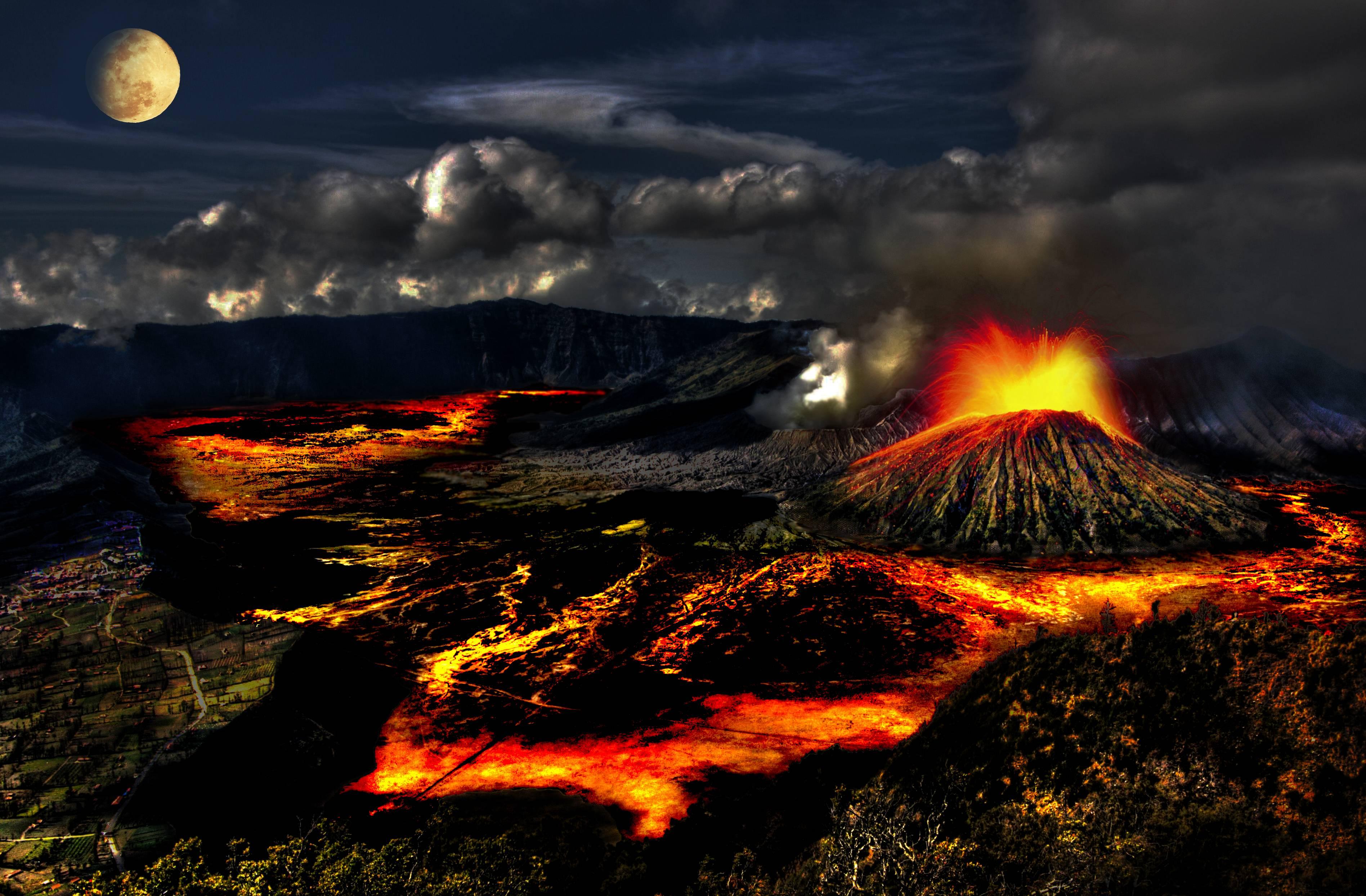 Volcano Wallpapers   Top Volcano Backgrounds   WallpaperAccess 3793x2489