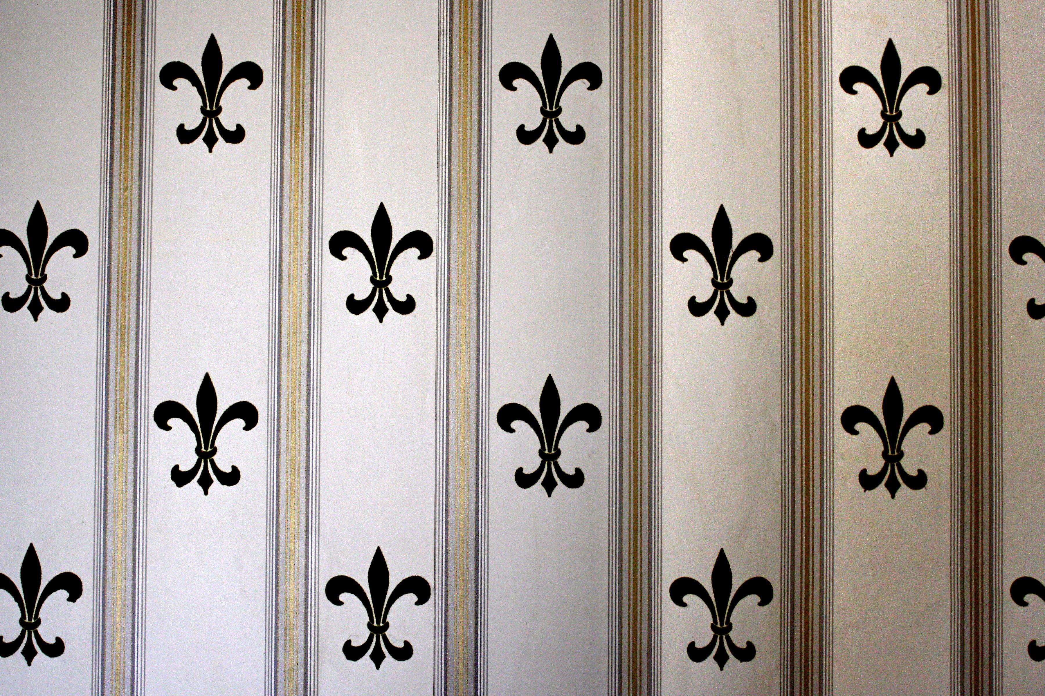 Fleur de lis Wallpaper Texture Picture Photograph Photos 3600x2400