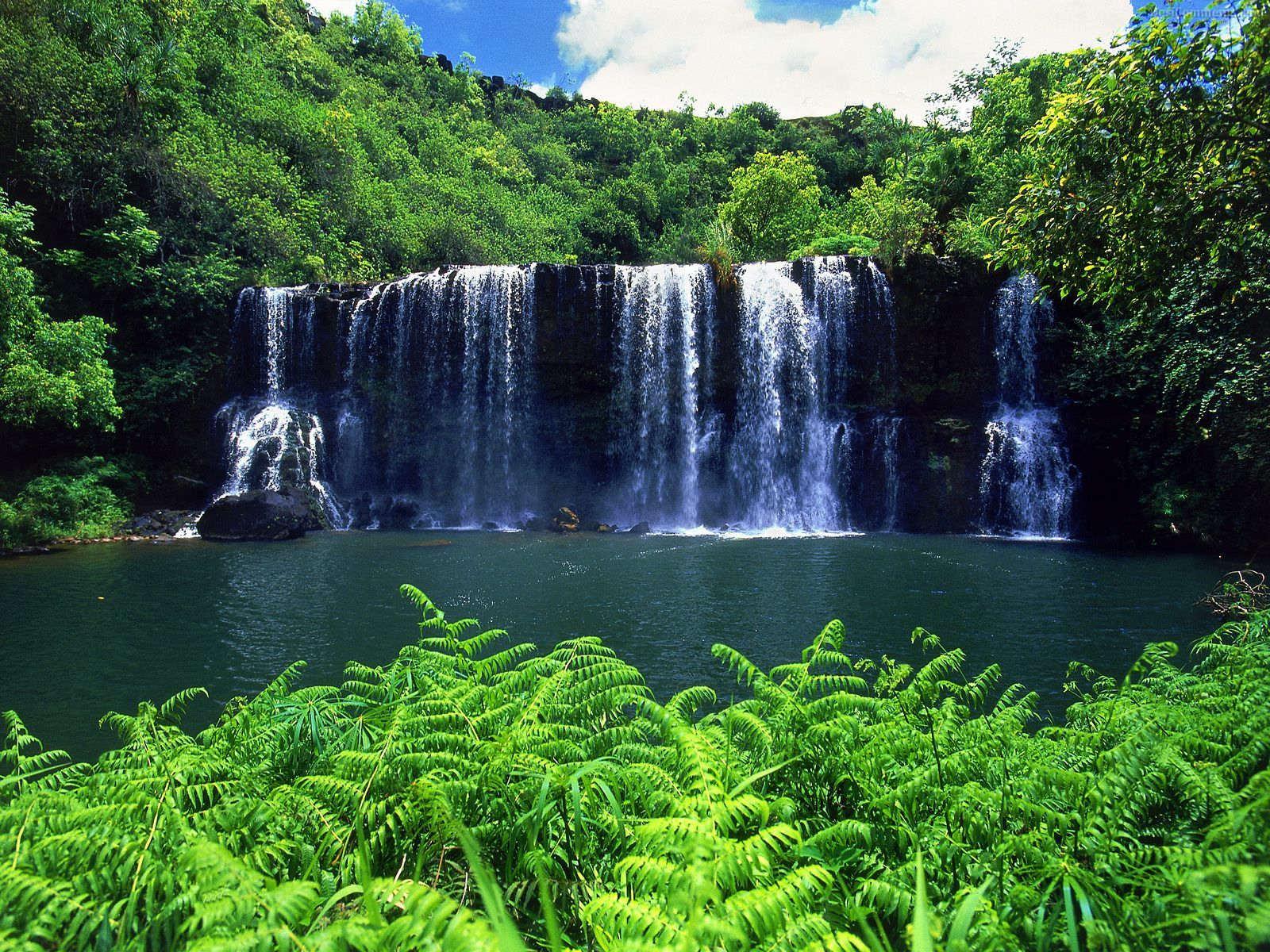 Waterfall Wallpaper 88 1600x1200