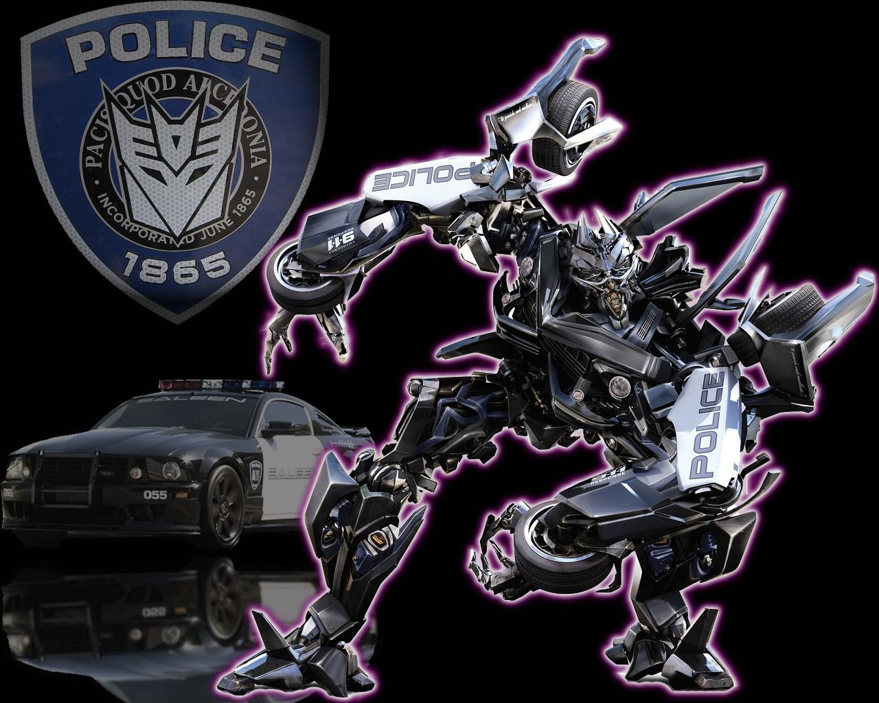 Transformers   Barricade Transformers Wallpaper Backgrounds 1280x1024