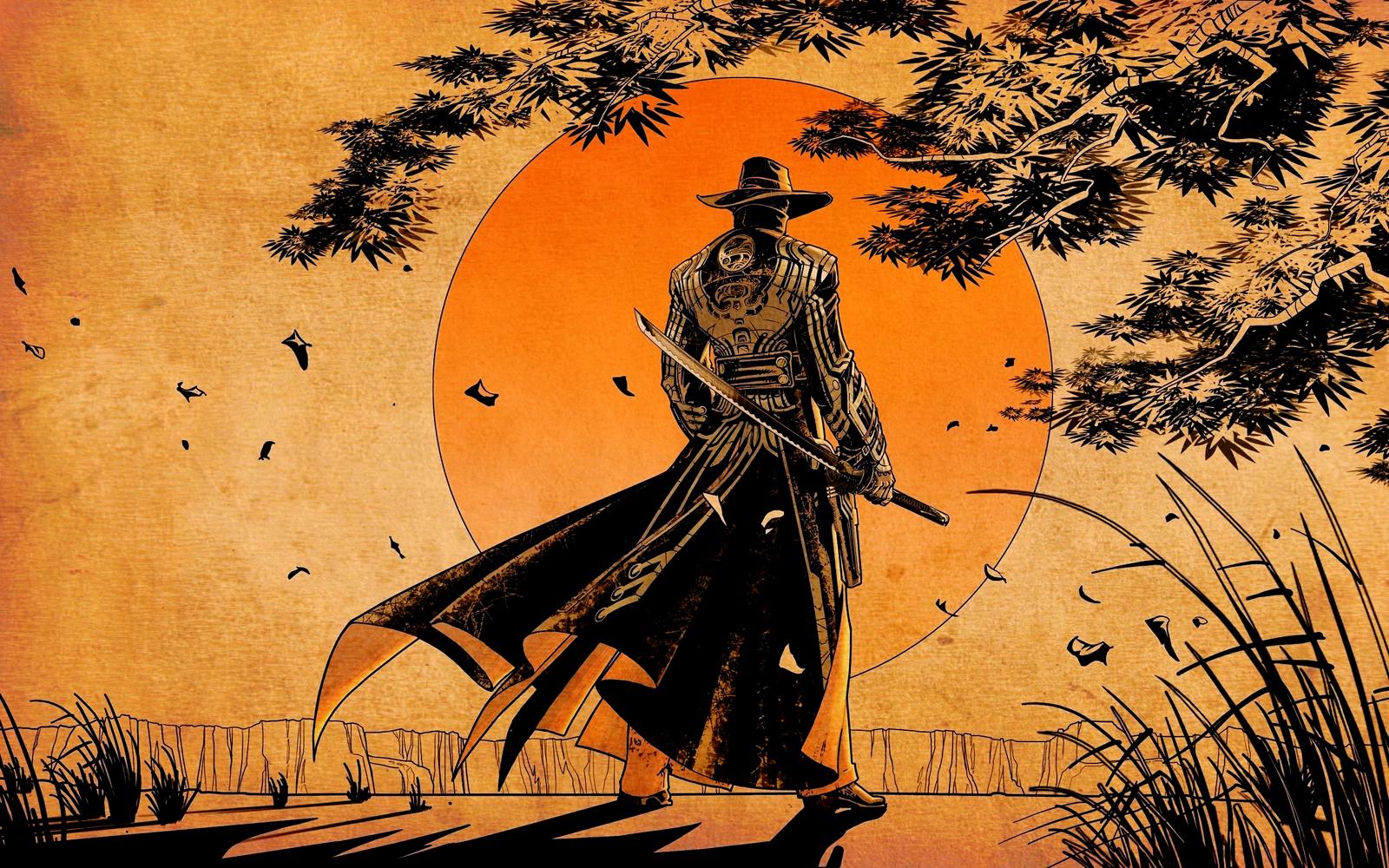 Red Steel 2 Western Samurai Game Wallpapers Desktop Wallpapers 1600x1000