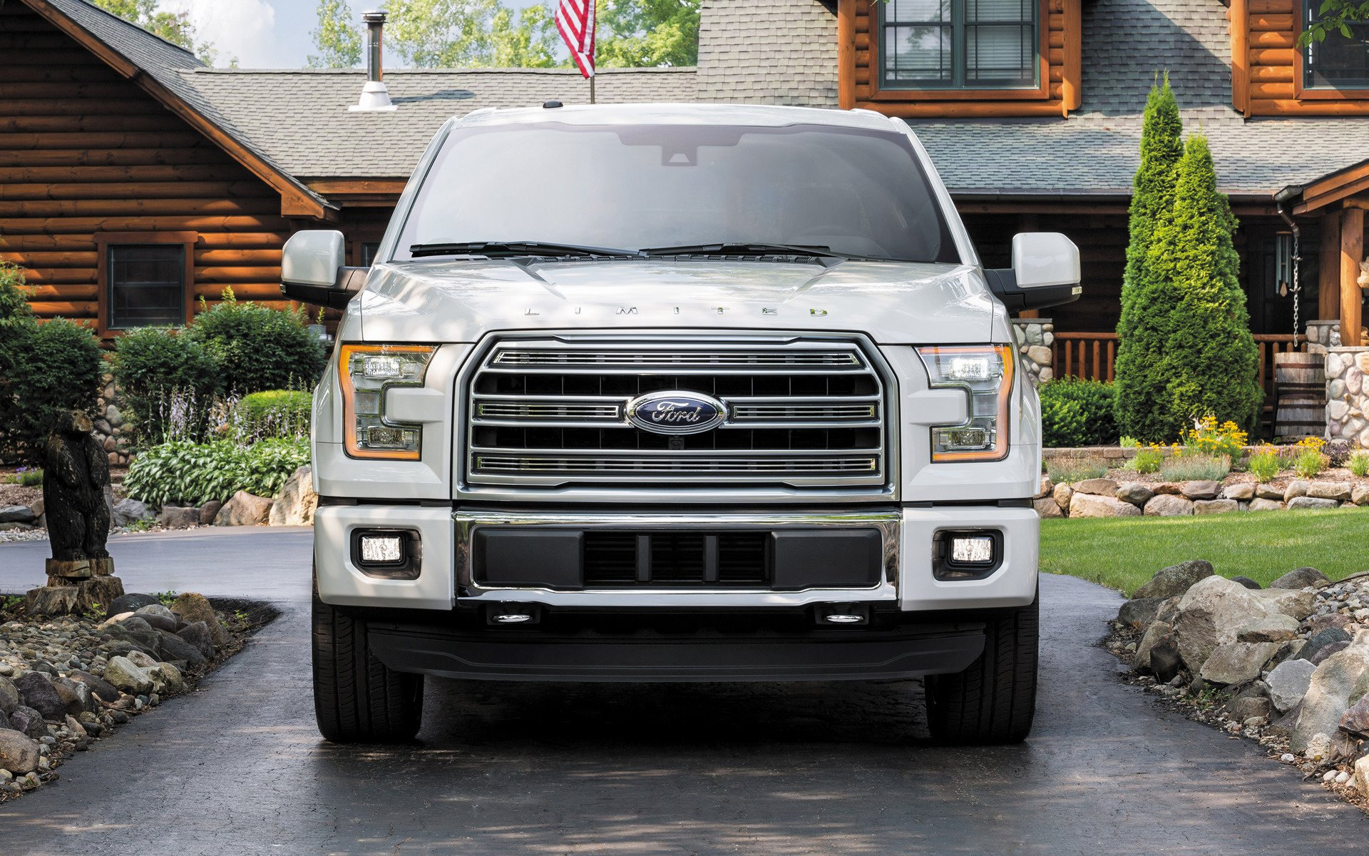 Ford F 150 Limited SuperCrew 2016 Wallpapers and HD Images 1920x1200