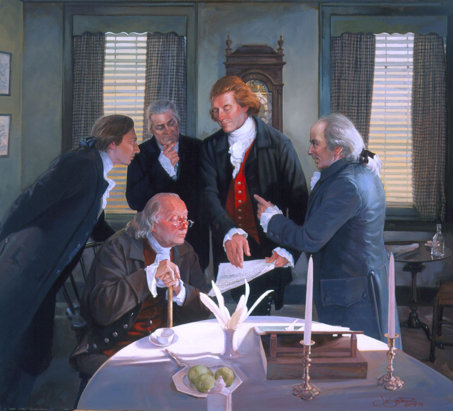 Founding Fathers Wallpapers 1500x1359
