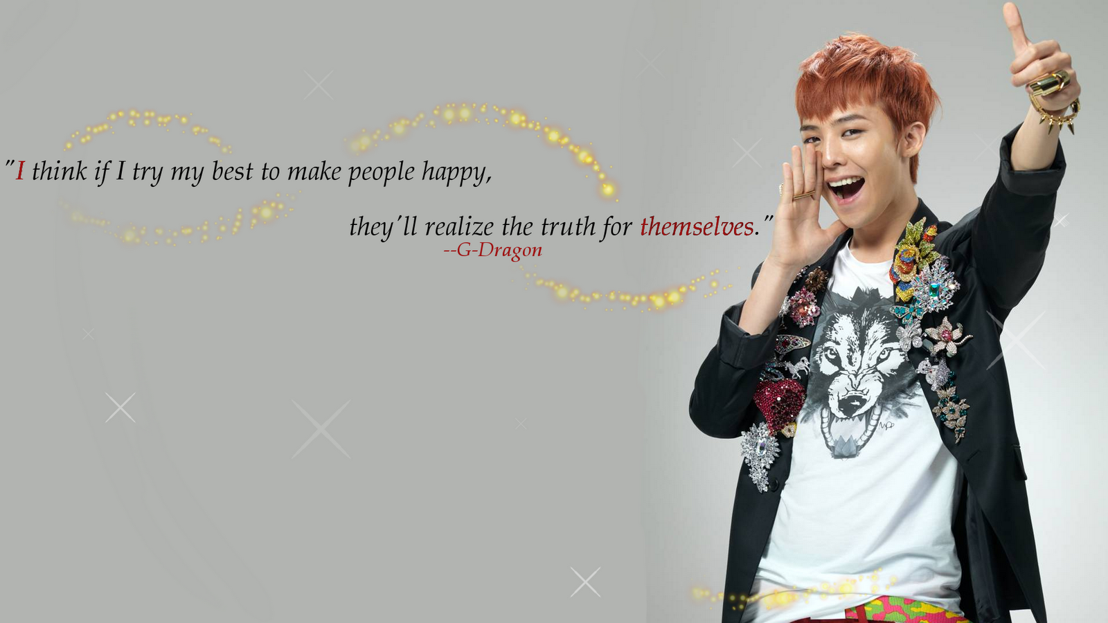 Pop Wallpapers G Dragon Wallpaper 1600x900