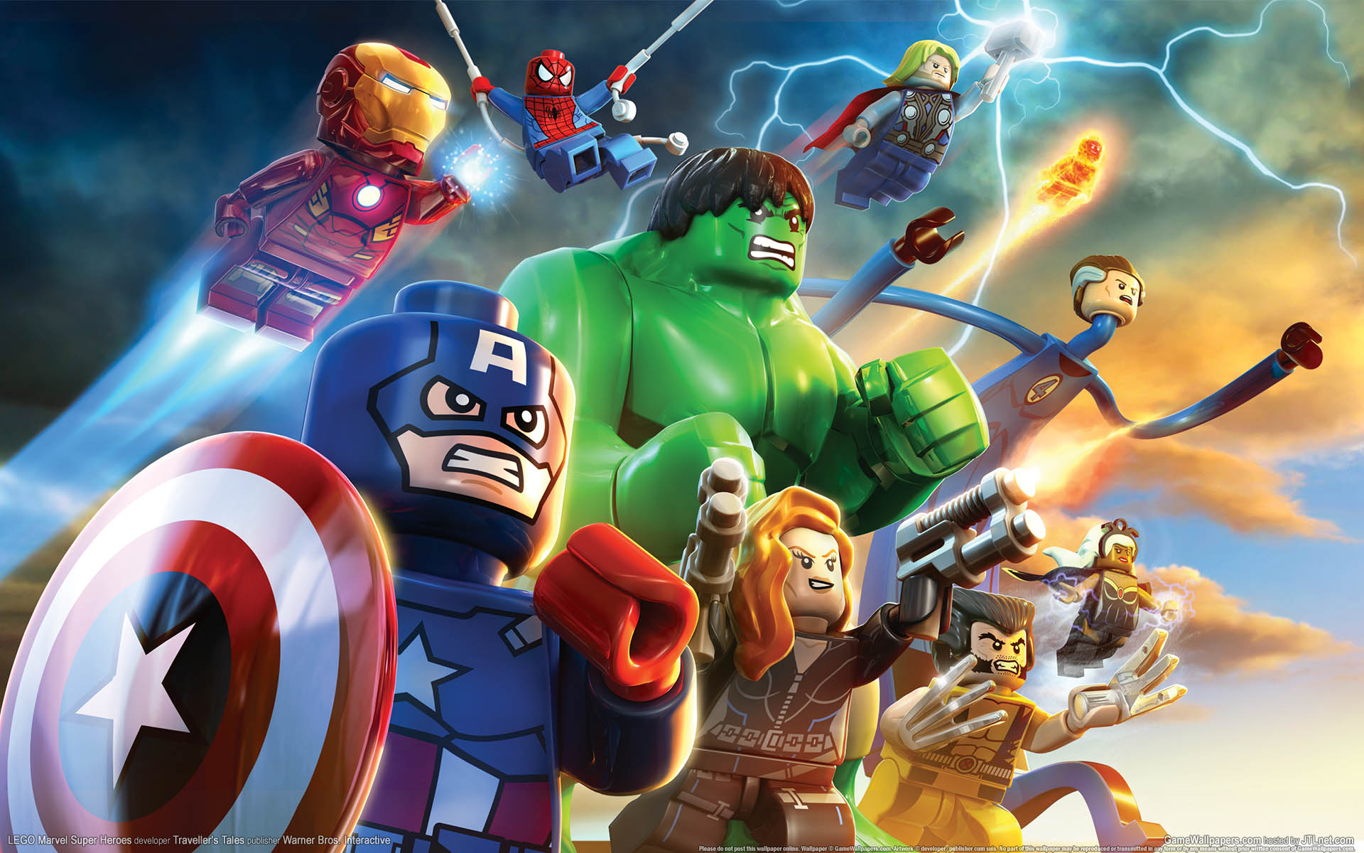LEGO Marvel Super Heroes HD wallpaper 1 2 1920x1200