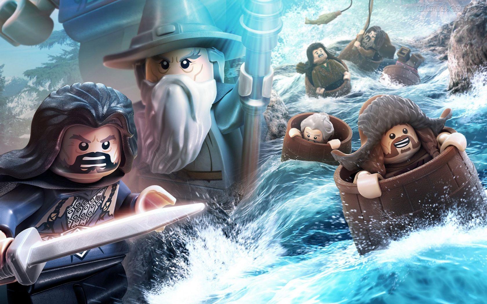 Papel de Parede LEGO The Hobbit 1680x1050