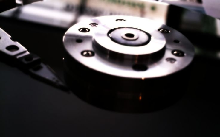 hard disk drive wallpaper background 736x460