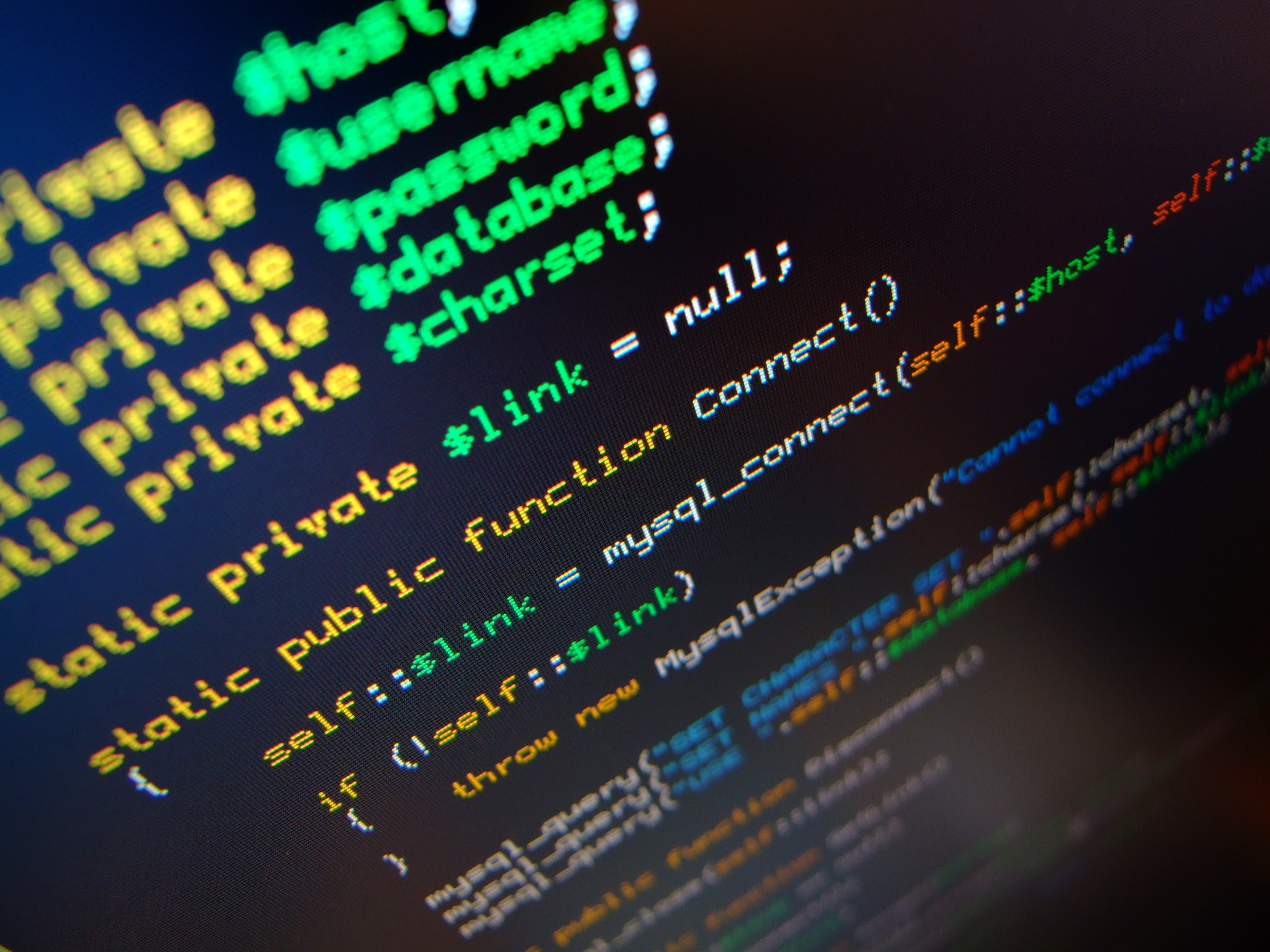 Code Terminal Wallpaper 2848x2136 Code Terminal Php Databases 2848x2136